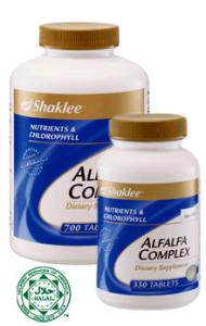 alfalfa shaklee, milk booster, keputihan, kacip fatimah, tambah susu