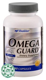 omega guard shaklee, vitamin untuk pelajar cergas dan bijak