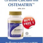 promosi ostematrix shaklee