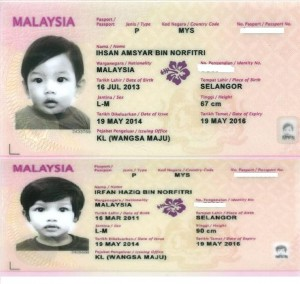 passport, travel luar negara
