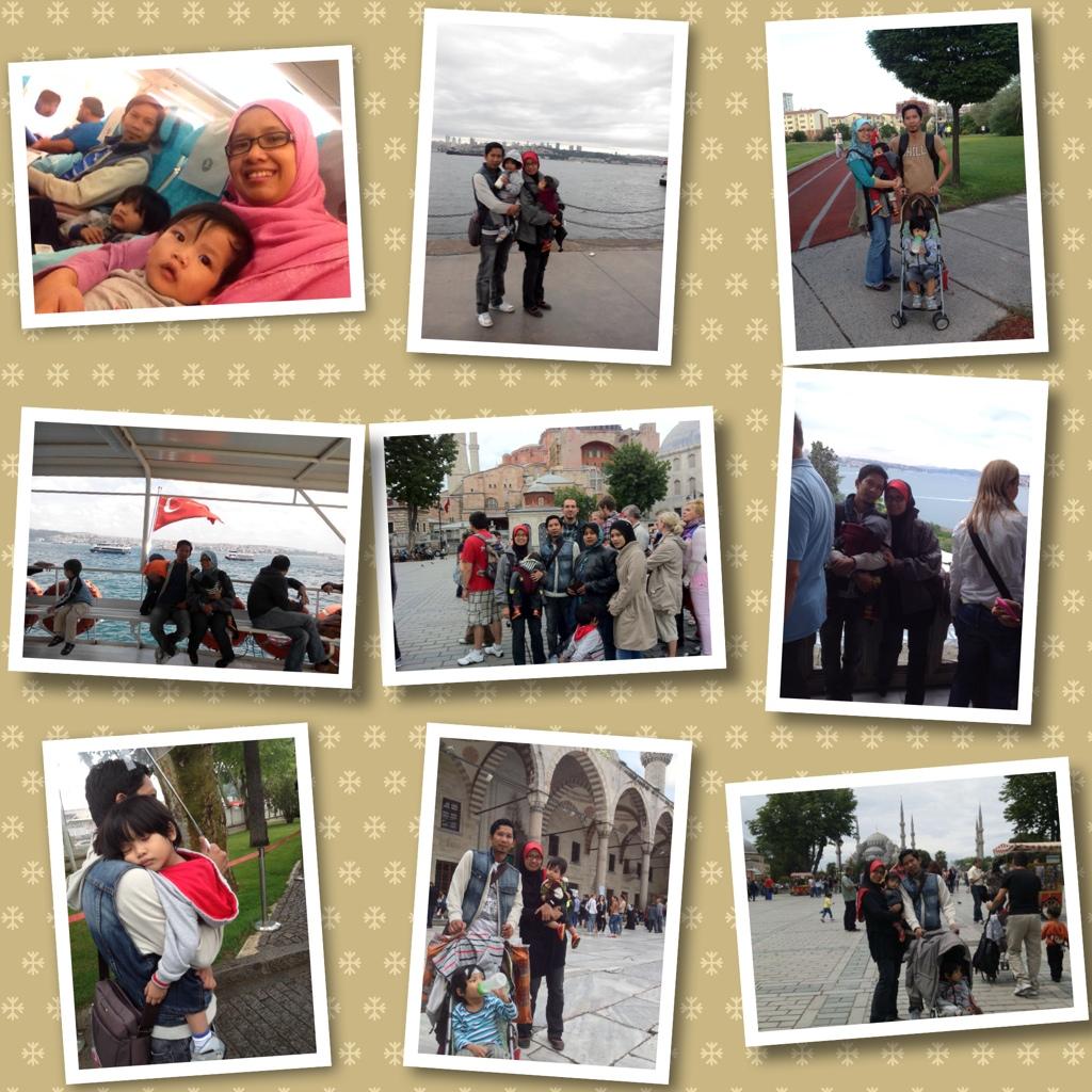 Tips travel luar negara bersama bayi dan kanak-kanak