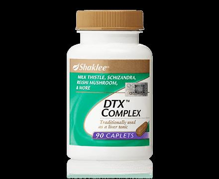 DTX Complex, supplemen untuk hati, vitamin untuk hati