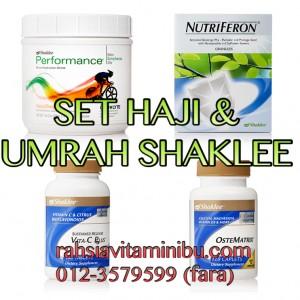 set haji dan umrah, vitamin untuk jemaah haji dan umrah