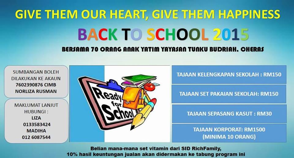 Program Back to School 2015