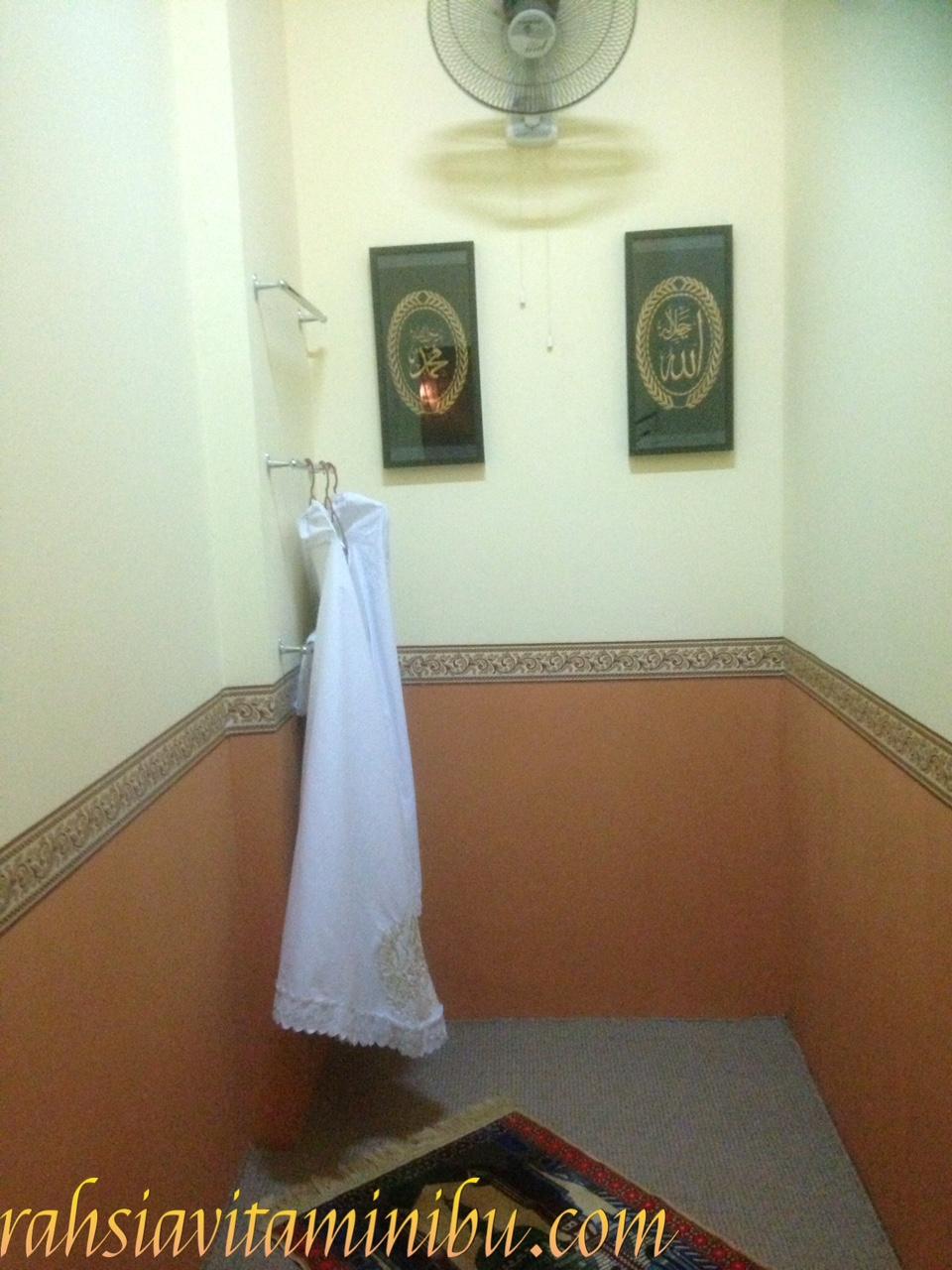 Ruang Solat Di Siti Salon Alzahrah Sri Rampai Rahsia Vitamin Ibu