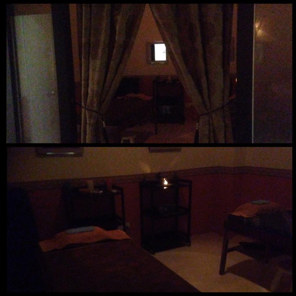 ruang spa di siti salon alzahrah sri rampai