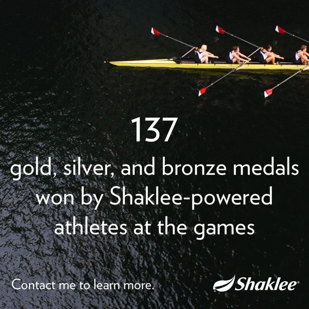 menang olimpik dengan shaklee