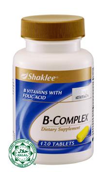 bcomplex shaklee, vitamin ibu menyusu