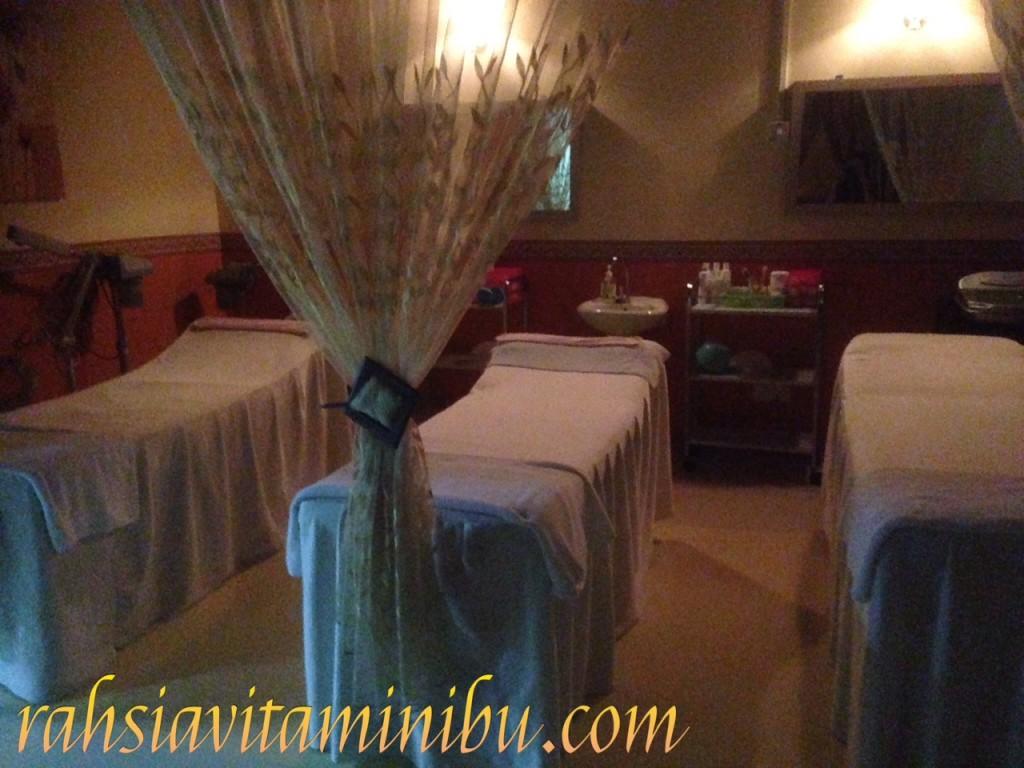 Ruang facial di Siti Salon AlZahrah